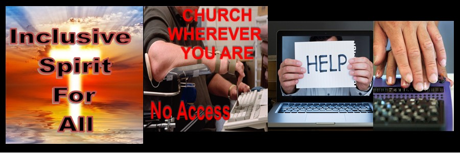 Inclusive Spirit For All Mom & Son has no website access to church